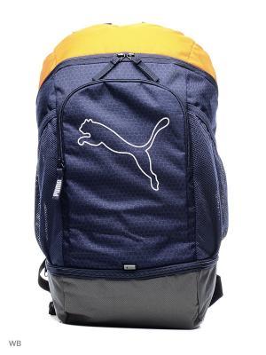 Рюкзак PUMA Echo Backpack. Цвет: синий