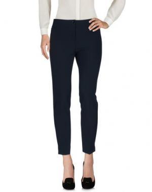 Повседневные брюки MARCELLO SANGIORGI. Цвет: темно-синий