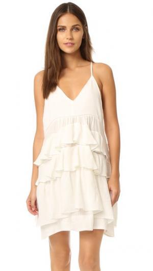 Платье Kade dRA. Цвет: белый