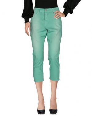 Повседневные брюки ROŸ ROGER'S. Цвет: зеленый