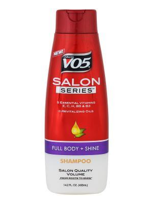 Профессиональный шампунь Shampoo Salon Series FULL BODY+SHINE VO5. Цвет: белый