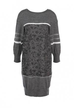Платье Escada Sport. Цвет: серый