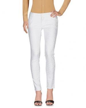 Повседневные брюки SHAFT DELUXE. Цвет: белый