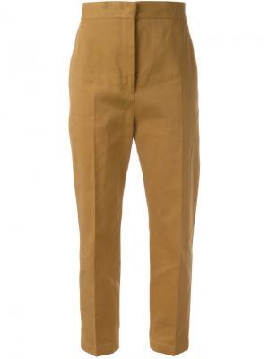 Укороченные брюки Attila Jil Sander. Цвет: коричневый