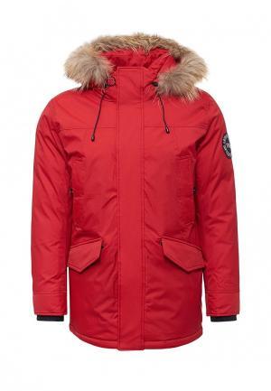 Куртка утепленная Tais. Цвет: красный