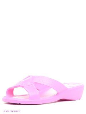 Шлепанцы Дюна. Цвет: розовый