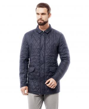 Куртка  JK-0216 NAVY HENDERSON. Цвет: синий