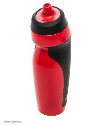 Бутылка для воды Nike. Цвет: красный