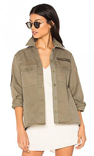 Куртка vahine MKT studio. Цвет: оливковый