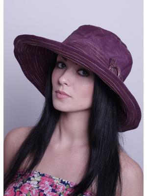 Шляпа Level Pro. Цвет: бордовый, фиолетовый