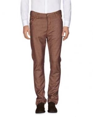 Повседневные брюки ROŸ ROGER'S. Цвет: коричневый