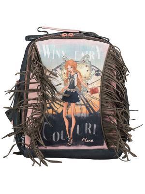 Рюкзак Winx Fairy Couture. Цвет: серый