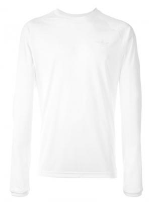 Adidas Originals X  T-shirt Palace. Цвет: белый