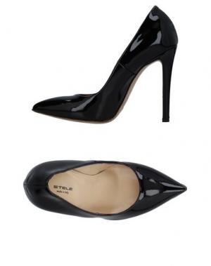 Туфли STELE. Цвет: черный