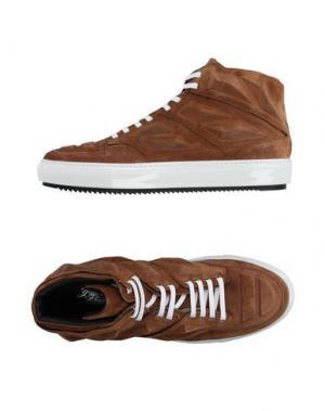 Высокие кеды и кроссовки ALEJANDRO INGELMO. Цвет: коричневый