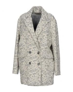 Пальто ...À_LA_FOIS.... Цвет: слоновая кость