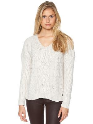 Пуловер TOM TAILOR. Цвет: светло-серый