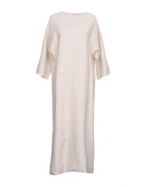 Длинное платье UN-NAMABLE. Цвет: слоновая кость