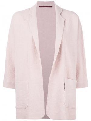 Unstructured blazer Daniela Gregis. Цвет: розовый и фиолетовый