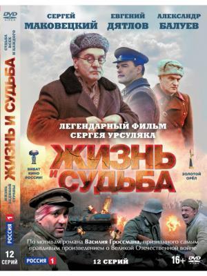 Жизнь и судьба. 12 серий (Blu-ray) НД плэй. Цвет: зеленый, красный