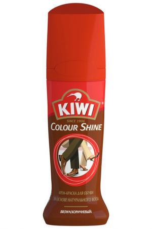 Жидкий крем-блеск KIWI. Цвет: коричневый