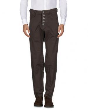 Повседневные брюки NOSTRASANTISSIMA. Цвет: хаки