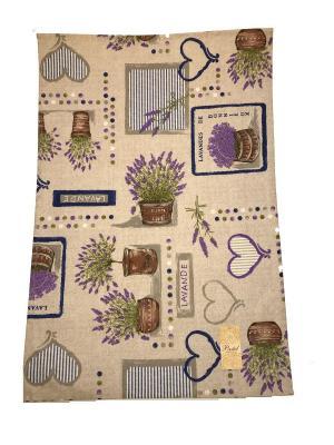 Полотенце Lavande La Pastel. Цвет: серый,синий