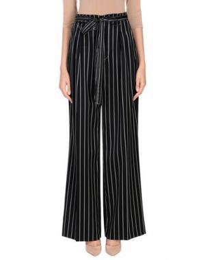 Повседневные брюки CAROLINA HERRERA. Цвет: черный