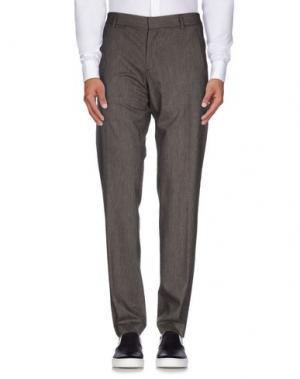 Повседневные брюки DANIELE ALESSANDRINI. Цвет: свинцово-серый