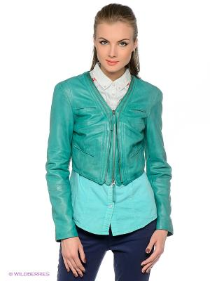 Куртка APART. Цвет: зеленый