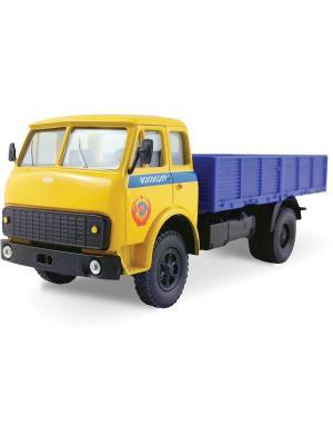 Машина MAZ-5335 милиция СССР AUTOTIME. Цвет: желтый