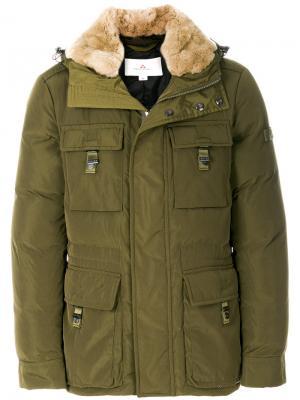 Непромокаемая куртка Peuterey. Цвет: зелёный