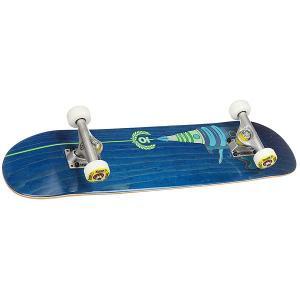 Скейтборд в сборе детский  Blaster Blue 28 x 7 (17.8 см) Юнион. Цвет: мультиколор,синий