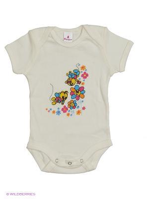 Пижама ясельная MP0101 05 цвет экрю, пчелки Квирит. Цвет: молочный