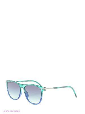Солнцезащитные очки MARC JACOBS. Цвет: синий, голубой