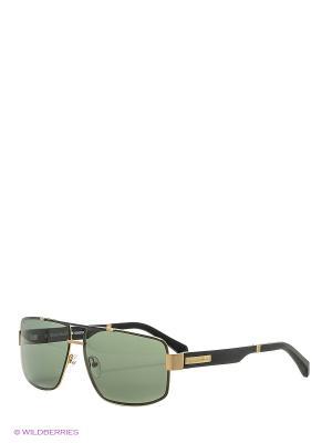 Солнцезащитные очки BLD 1635 401 GB SIGNATURE Baldinini. Цвет: коричневый, золотистый