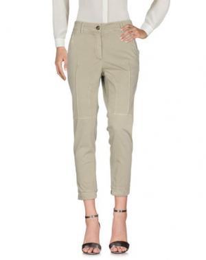 Повседневные брюки GUNEX. Цвет: зеленый-милитари