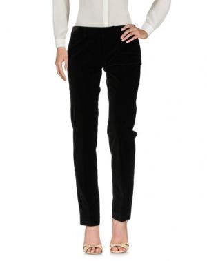 Повседневные брюки PAOLONI. Цвет: темно-коричневый