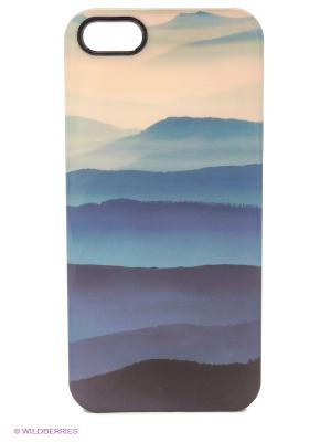 Чехол для iPhone 5/5s Highlands Kawaii Factory. Цвет: синий
