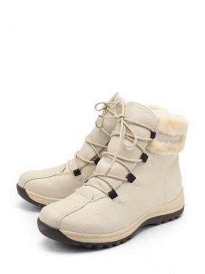 Ботинки LETMI. Цвет: белый