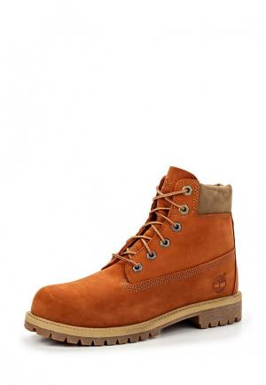 Ботинки Timberland. Цвет: оранжевый