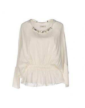 Блузка ELLA LUNA. Цвет: белый