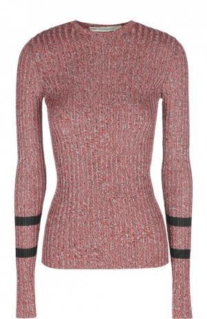Облегающий пуловер с контрастными рукавами Mary Katrantzou. Цвет: красный