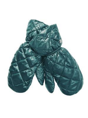 Варежки Consowear. Цвет: зеленый