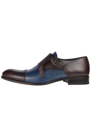 Shoes Sergio Serrano. Цвет: brown-jeans