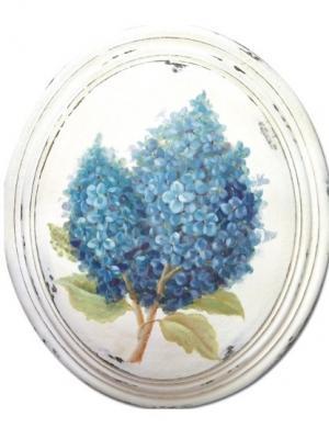 Картина - репродукция Голубая сирень Magic Home. Цвет: белый