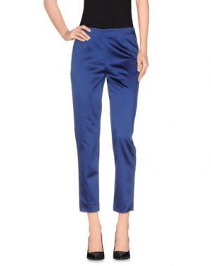 Повседневные брюки ROOM 52. Цвет: ярко-синий