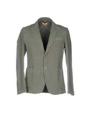 Пиджак D.R SHIRT. Цвет: зеленый-милитари