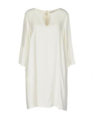 Короткое платье BEATRICE. Цвет: слоновая кость