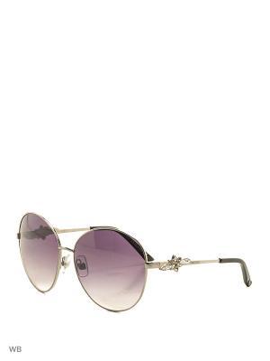 Солнцезащитные очки SK 0092 12B Swarovski. Цвет: серебристый, черный